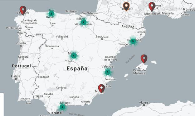 España es el cuarto país con más cajeros automáticos Bitcoin en el mundo